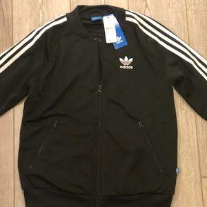 NWT-Adidas Classic 3 Stripe Track Jacket-XS
